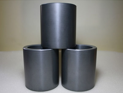 Sintered silicon carbide ceramic sleeves