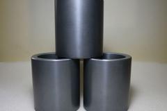 Sintered silicon carbide ceramic sleeves
