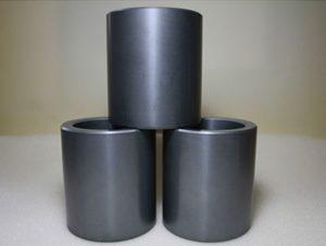 Sintered silicon carbide ceramic sleeve