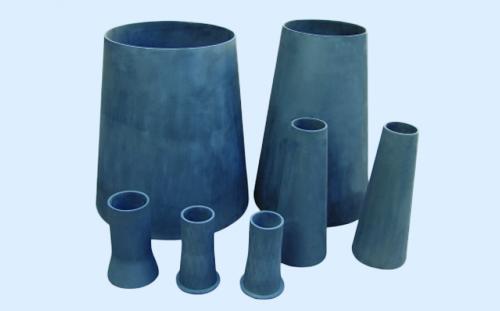 Silicon carbide cones